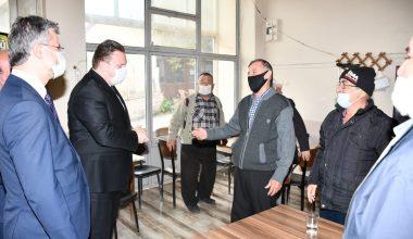 MHP Grup Başkanvekili Bülbül'den, mahalle ziyareti