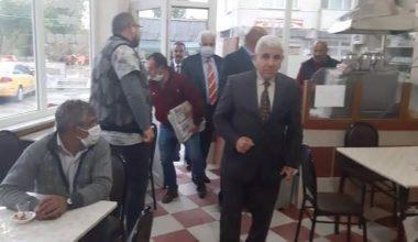 MHP heyeti Süloğlu ilçesinde ziyaretlerde bulundu