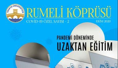 Rumeli Köprüsü dergisinin Kovid -19 temalı ikinci sayısı yayımlandı