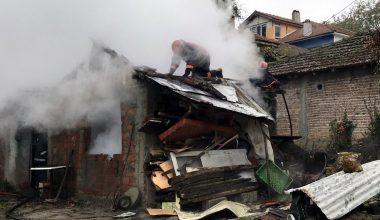 Sakarya'da odunluk yangını