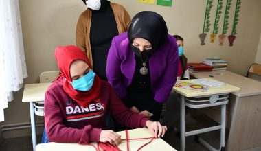 Özel öğrencilerin mesleki eğitimine uygun hizmet binası açılacak