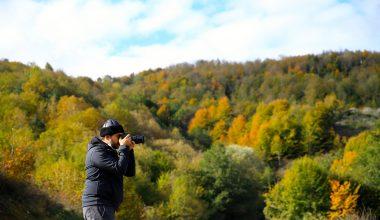 Sakarya'da sonbahar güzelliği…
