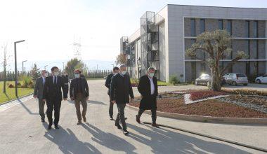 Sanayi ve Teknoloji Bakan Yardımcısı Dönmez'den Ticaret ve Sanayi Odası'na ziyaret