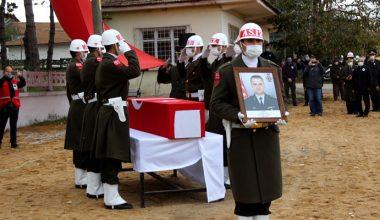 Şehit Yarbay Sayın, Edirne'de son yolculuğuna uğurlandı…