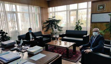 TBMM KEFEK Başkanı Aksal DSİ Bölge Müdürü Kuran'ı ziyaret etti