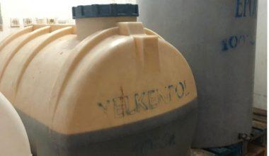 90,5 ton kaçak içki ele geçirildi