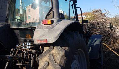 Tekirdağ'da çalınan traktör Kırklareli'nde bulundu