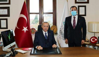 Cumhurbaşkanı Erdoğan, Tekirdağ'daydı