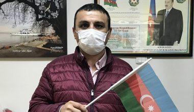 Türkiye'deki soydaşların kalbi Azerbaycan için atıyor