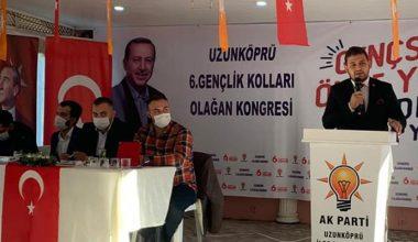 AK Parti Uzunköprü Gençlik Kolları Başkanlığına Bilecik seçildi