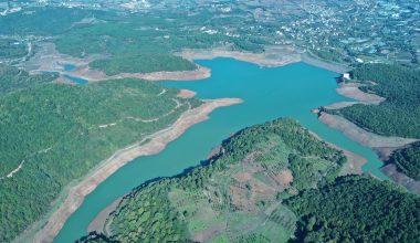 Salgın sürecinde artan tüketime rağmen barajın 3'te biri dolu