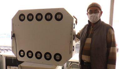 Astım hastası annesi için hava temizleme cihazı tasarladı
