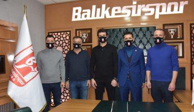 Aydeniz Et Balıkesirspor teknik direktör Cihat Arslan'la sözleşme imzaladı