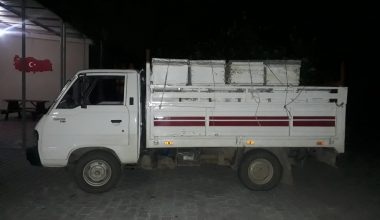 """""""Dur"""" ihtarına uymayan kamyonetten çalıntı arı kovanları çıktı"""