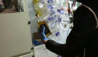 420 litre sahte içki ele geçirildi