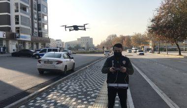 Kısıtlamayı ihlal edenler drone ile tespit ediliyor