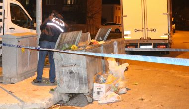 Çöp konteynerinde bulunan bebekten üzücü haber!