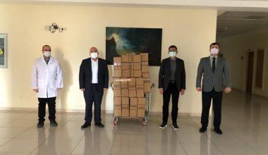 Uygulama Hastanesi'ne pandemi desteği
