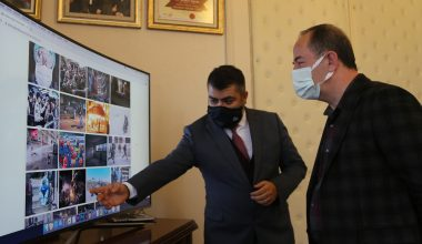 """Başkan Gürkan, AA'nın """"Yılın Fotoğrafları"""" oylamasına katıldı"""