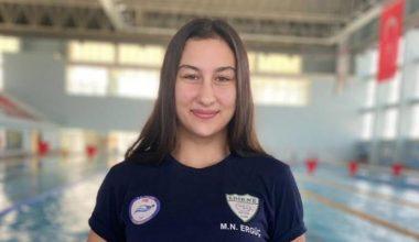 Edirneli sporcu Türkiye üçüncüsü oldu