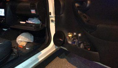 """Edirne'de """"dur"""" ihtarına uymayan alkollü sürücü kovalamaca sonucu yakalandı"""