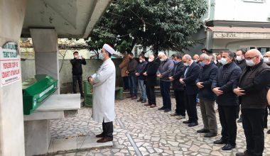Gazeteci Murat Solmaz son yolculuğa uğurlandı