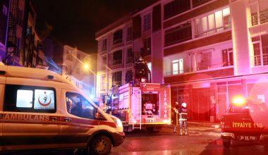 Yangında dumandan etkilenen kişi hastaneye kaldırıldı
