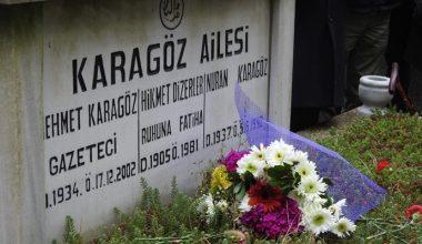 Edirne Gazeteciler Derneği, kurucu başkanları merhum Karagöz'ü andı