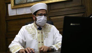 Selimiye Cami İmamı Serenli, AA'nın fotoğraf oylamasına katıldı