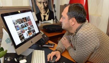 """Süleymanpaşa Belediye Başkanı Cüneyt Yüksel AA'nın """"Yılın Fotoğrafları"""" oylamasına katıldı"""