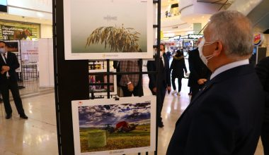 """Tekirdağ'da """"11. Tarım ve İnsan Ulusal fotoğraf Sergisi"""" açıldı"""