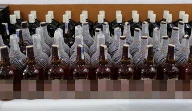 Malkara'da kaçak içki operasyonu!