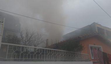 Tek başına yaşadığı ev tamamen yandı!