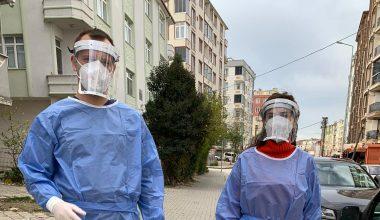 Tekirdağ'da öğretmenler Kovid-19 hastalarına ilaçlarını ulaştırdı