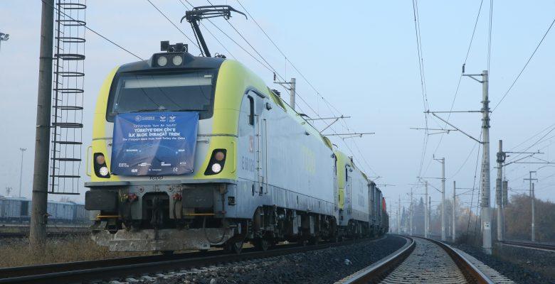 Türkiye'den Çin'e gidecek ilk blok ihracat treni Kocaeli'ye ulaştı