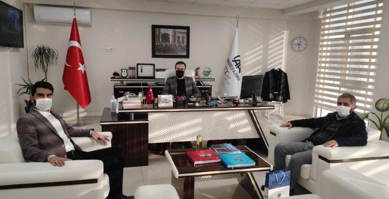 AGD'den AA Sakarya Bölge Müdürlüğüne ziyaret