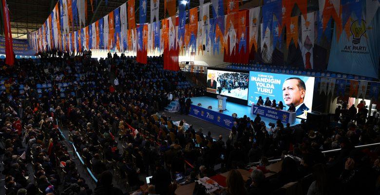 İzmir Milletvekili Binali Yıldırım, AK Parti Edirne 7. Olağan İl Kongresi'nde konuştu: