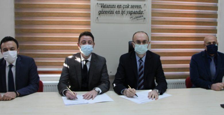 """Bandırma'da """"Sporda Başarı İş Birliğiyle Gelecek Projesi""""nin protokolü imzalandı"""