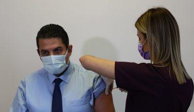 Edirne'de sağlık çalışanlarına aşı başladı