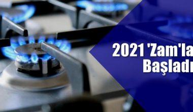 Doğal gaz fiyatlarına yeni yıl zammı…!
