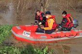 Tunca Nehri'nde arama çalışması başlatıldı