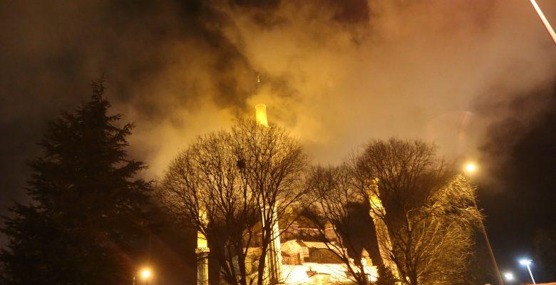Edirne Müftülüğü binası yangın! Kullanılamaz hale geldi