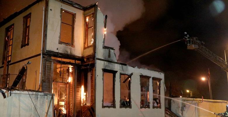 Edirne Müftülüğü binasında yangın! Kullanılamaz hale geldi