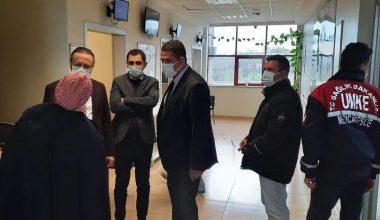 Edirne Sağlık Müdürü Yıldırım, Lalapaşa Devlet Hastanesi'ni ziyaret etti