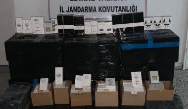 İpsala'da gümrük kaçaklığına yönelik operasyon!