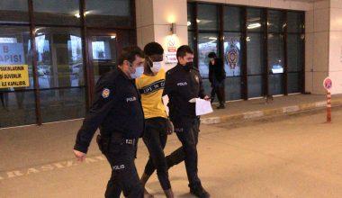 Edirne'de ilginç olay! Polisin elini ısırdı…