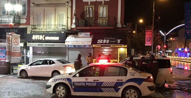 Edirne'de kısıtlamayı ihlal eden yabancı uyruklu 4 kişiye para cezası
