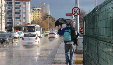 Edirne'ye dolu yağdı…!