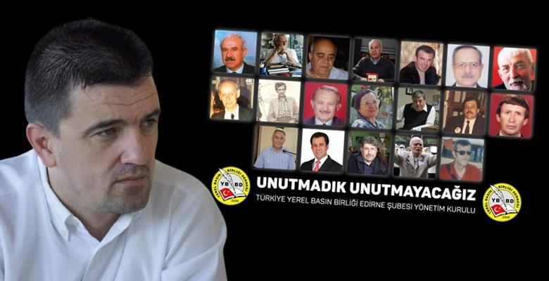 Yerel Basın Birliğinden hayatlarını kaybeden gazetecilere Vefa…