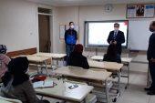 İl Milli Eğitim Müdürü Arpacı kursları ziyaret etti